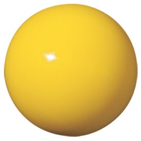 Logo Shiny Ball Stress Reliever