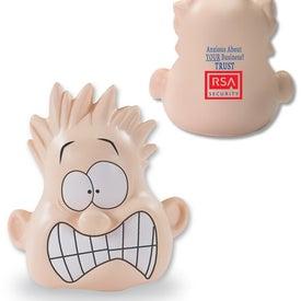 Shocked Mood Dude Stress Ball