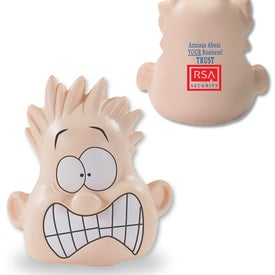 Shocked Mood Dude Stress Balls