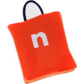 Shopping Bag Stress Reliever Imprinted with Your Logo