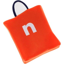 Logo Shopping Bag Stress Reliever