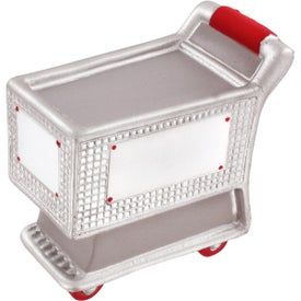 Monogrammed Shopping Cart Stress Reliever