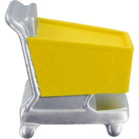 Shopping Cart Stress Toy Imprinted with Your Logo