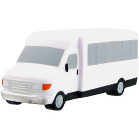 Shuttle Bus Stress Ball for Your Company