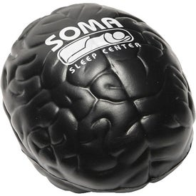 Brain Stress Ball with Your Slogan
