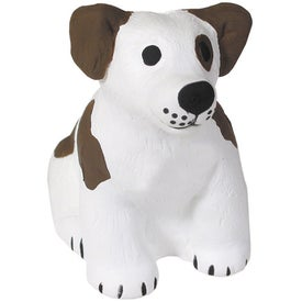 Sitting Dog Stress Reliever for Marketing
