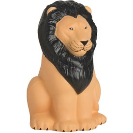 Sitting Lion Stress Relievers
