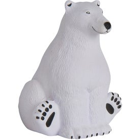 Sitting Polar Bear Stress Relievers