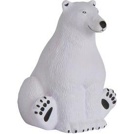 Sitting Polar Bear Stress Reliever