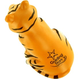 Sitting Tiger Stress Ball for Customization