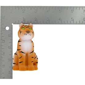 Imprinted Sitting Tiger Stress Ball