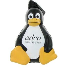 Advertising Sitting Penguin Stress Ball Yo Yo