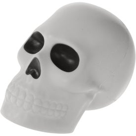 Skull Stress Ball with Your Slogan