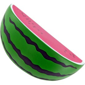 Custom Sliced Watermelon Stress Toy