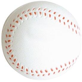 Slow Return Foam Baseball Stress Reliever