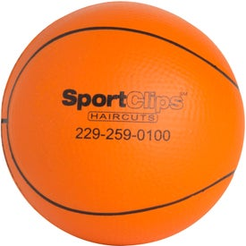 Slow Return Foam Basketball Stress Reliever