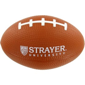 Logo Small Football Stress Toy