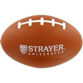 Logo Small Football Stress Toy