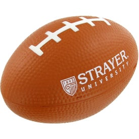Small Football Stress Toy Printed with Your Logo