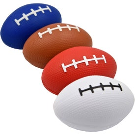 Branded Small Football Stress Toy