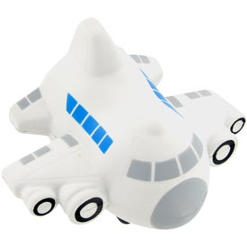 Small Airplane Stress Toy for Marketing