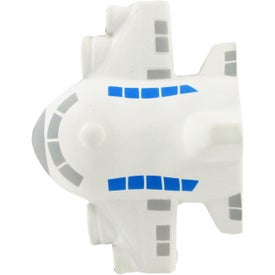 Small Airplane Stress Toy Branded with Your Logo
