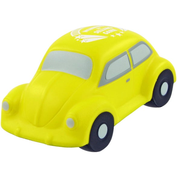 Yellow Small Car Stress Toy