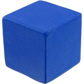 Small Cube Stress Toy Branded with Your Logo