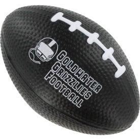 Personalized Small Football Stress Ball