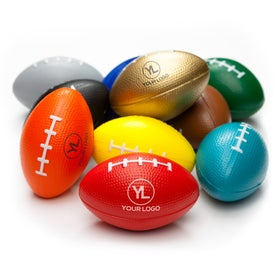 Logo Small Football Stress Ball