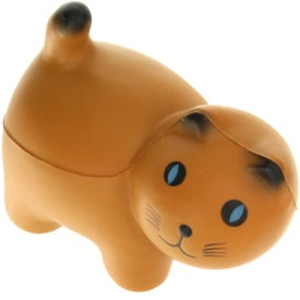 Smartie Cat Stress Reliever with Your Slogan