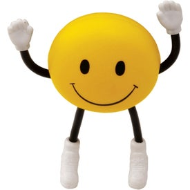 Smile Face Stick People Stress Reliever