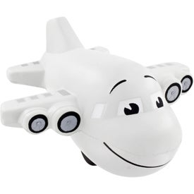 Large Airplane Stress Ball for your School