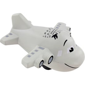 Large Airplane Stress Ball for Customization
