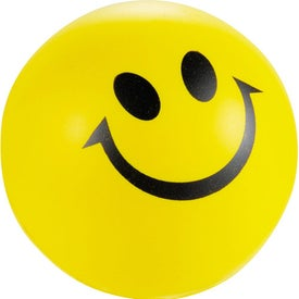 Smile Stress Reliever Imprinted with Your Logo