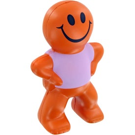 Personalized Smiley Captain Stress Toy