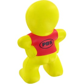 Smiley Captain Stress Toy for Promotion