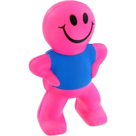 Smiley Captain Stress Toy