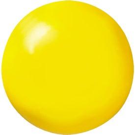 Monogrammed Smiley Face Stress Balls