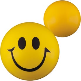 Smiley Face Stress Balls for Advertising