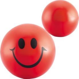 Company Smiley Face Stress Balls