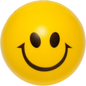 Smiley Face Stress Balls (Screen Print)