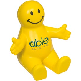 Smiley Guy Mobile Device Holder Printed with Your Logo