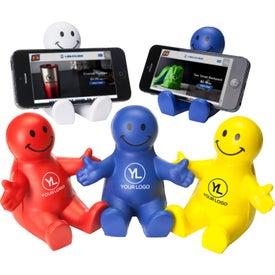 Smiley Guy Mobile Device Holder for Advertising