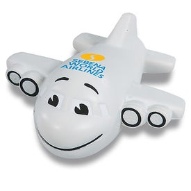 Smiley Plane Stress Reliever