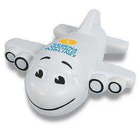Smiley Plane Stress Reliever