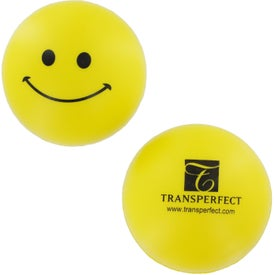 Customized Smiley Face Stress Reliever