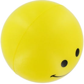 Company Smiley Face Stress Reliever