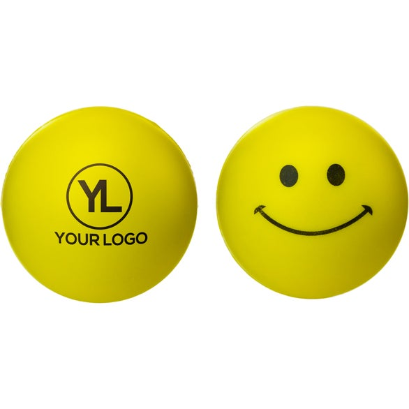 Yellow Smiley Face Stress Reliever