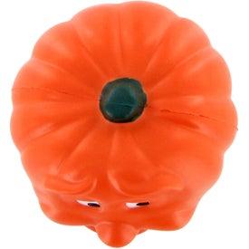 Custom Smiling Pumpkin Stress Ball